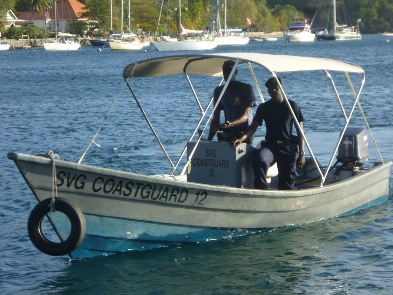 SVG Coast Guard - Bequia Boat Support